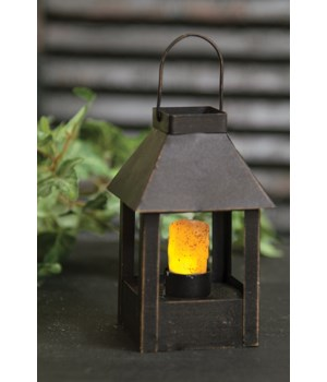 Miniature Lantern - POST - Timer 3  x 4 1/2  in.
