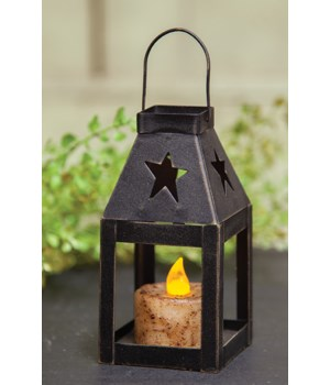 Miniature Lantern - STAR 2.5 x 5  in.
