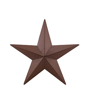 Star - Burgundy 24 in.