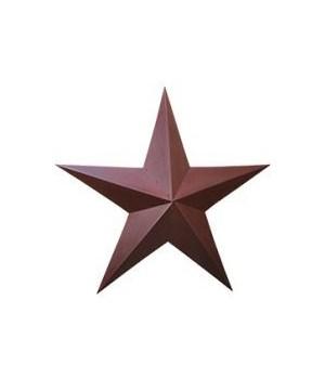 Star - Burgundy 36 in.