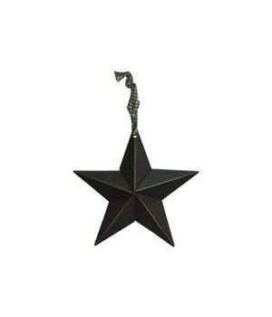 Primitive Hanging Black Star 8 in.