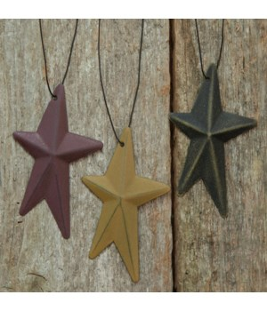 M36 Whimsical Hanging Star, 3.25 , 3 Asstd. 3.25 in.