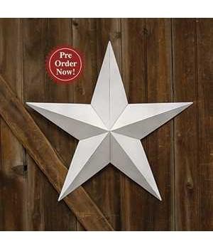 White Barn Star - 24  in.