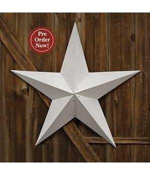 White Barn Star - 36  in.