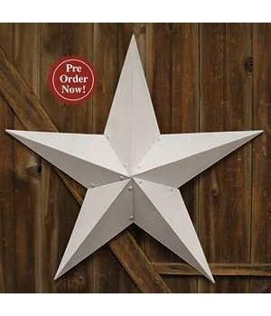 White Barn Star - 48  in.