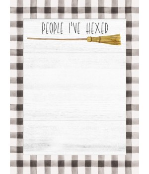 People I've Hexed Mini Notepad 5.75 h x 4.25 w in.