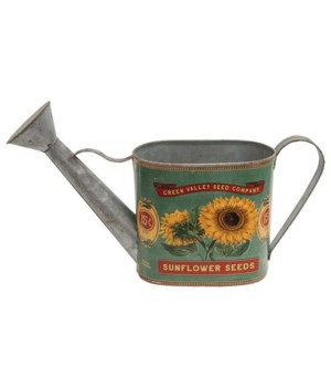 Green Valley Sunflower Seeds Watering Can .. 34/15w x 19l x 14h in.