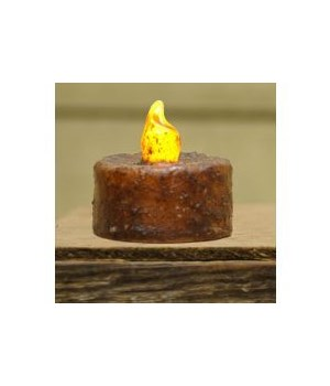 Burnt Mustard Switch Tealight - BOC