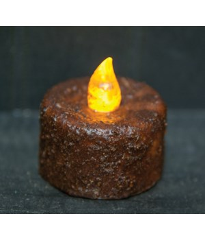 Burnt Mustard Timer Tealight - BOC