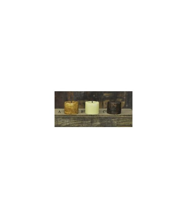 Burnt Mustard Votive Tealight - Switch 1 1/2  x 1 3/4  in.