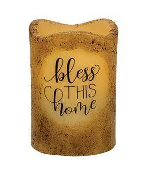 Bless this Home Pillar 3 x 4.5 in.