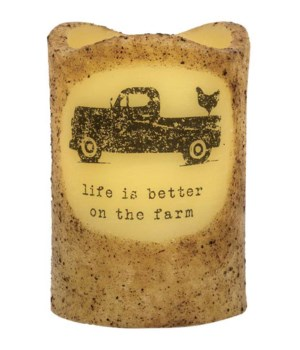 Better on the Farm Truck Timer Pillar 3 x 4.5 in.