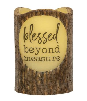 Blessed Beyond Measure Timer Pillar 3 x 4.5 in.