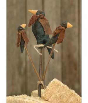 Crow Family Stakes 15 x 2.5  in.