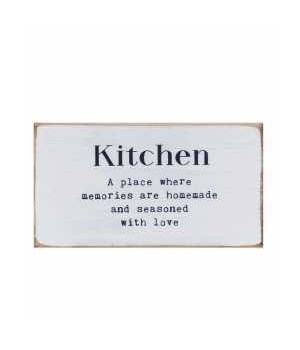 Simply Farmhouse Kitchen Block 6 x 3.24 x .75 in.