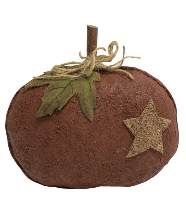 Stiffened Pumpkin With Star