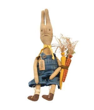 Horace Bunny Doll 10 l x 4  dp x 27 h in.