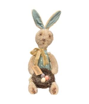 Theodora Bunny Doll 6 l x 7  dp x 20 h in.