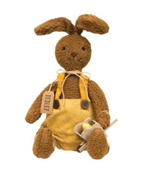 Dudley Bunny Doll 9 l x 4  dp x 25 h in.