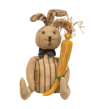 Alfred Bunny Doll 8 l x 7 dp x 22 h in.