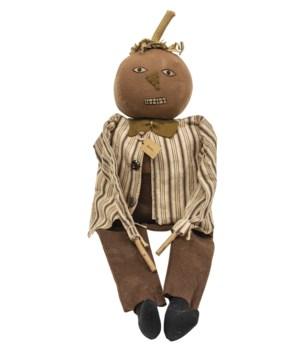 Steven Jack O Lantern Doll 24 l x 5  dp x 24 h in.