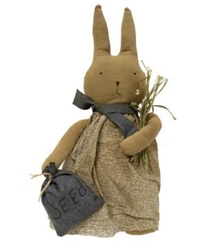 Seeds Bunny 16  16 in.