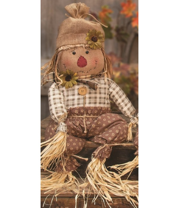 27  Edgar Scarecrow 27w x 6.5w .25 in.