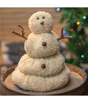 Large Melting Snowman .. 9 in.