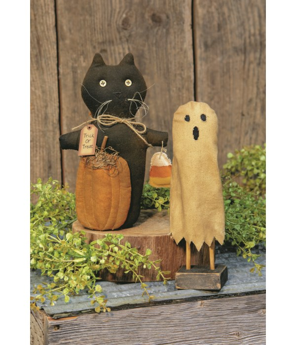 Trick Or Treat Cat Doll