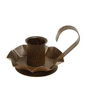 Flower taper holder - Rusty 4 in.