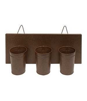 Wall Flower Holder 14.5 x 3.5 x 8.5 in.