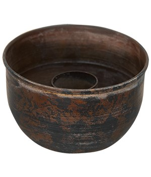 Rustic Taper Bowl - 1.75  H, 3  dia. (top), 2  dia. (bottom) 1.75 h x 3 w in.