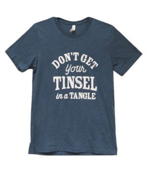 Tinsel in a Tangle T-Shirt, XXL