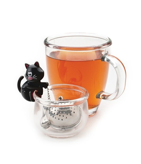 Meow Tea Cup Infuser & Bowl (Giftbox)