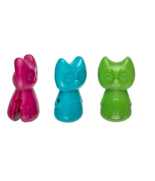 Hoot Clothespins (12 pc Bag)