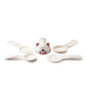 Meow - Measuring Spoons (5 pc Card)
