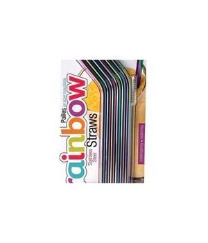 Rainbow Straws (6 pc Card)