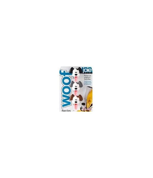Woof - Bag Ties (3 pc Card)