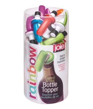 M40 Rainbow - Expand & Seal Bottle Toppers (40 pc Display)