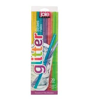 M10 Glitter Pet-G Straws (20 pc Giftbox)