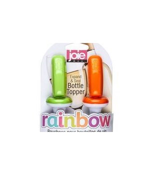 Rainbow - Expand & Seal Bottle Toppers (2 pc Card)