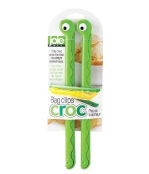 Croc - Bag Clips (2 pc Card)