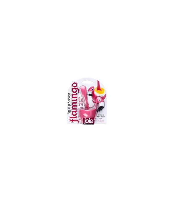 Flamingo - Egg Cup & Spoon (Card)