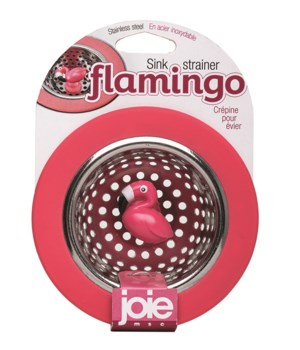 Flamingo Stainless Steel Sink Strainer (Card)