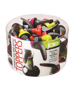 M48 Expand & Seal Wine Bottle Topper (48 pc Display)