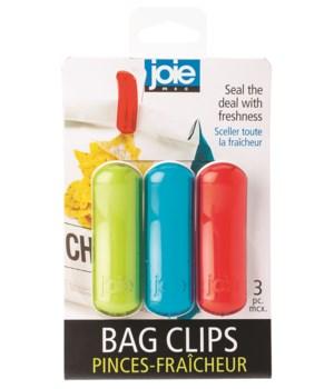 Rainbow Bag Clips (3 pc Card)