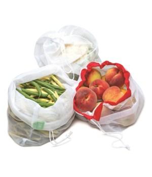 5 pc Reusable Produce Bags (5 pc Card)