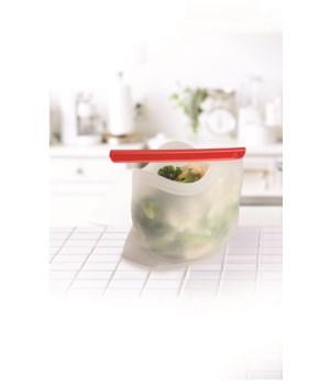 Clip & Seal Reusable Silicone Bag (Card)
