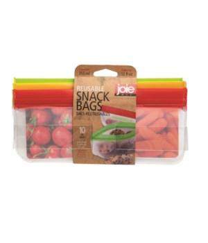 Reusable PEVA Bags - 12 oz. (10 pc Card)