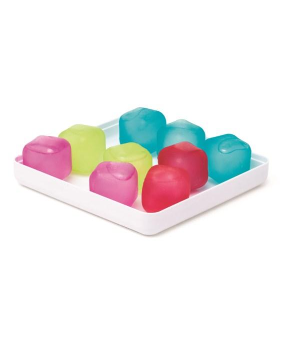 Rainbow - Reusable Ice cubes (16 pc Card)